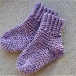 baby sokker i baby merino uld. Luksuskrea